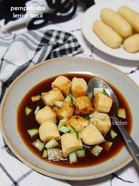 Resep Mpek Mpek Dos : resep, Pempek, Lenjer, Kecil, Monic's, Simply, Kitchen