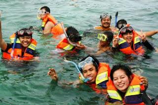 Dapatkan harga discount ! Jual tiket Snorkling murah Bali di tanjung benoa