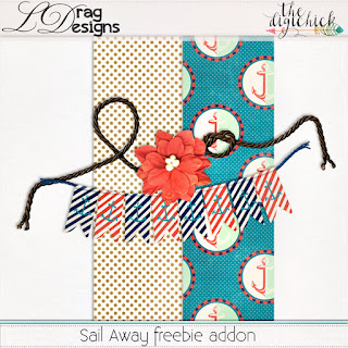 Creative Team for LDrag Designs -  Sail Away and Coordinating Freebie