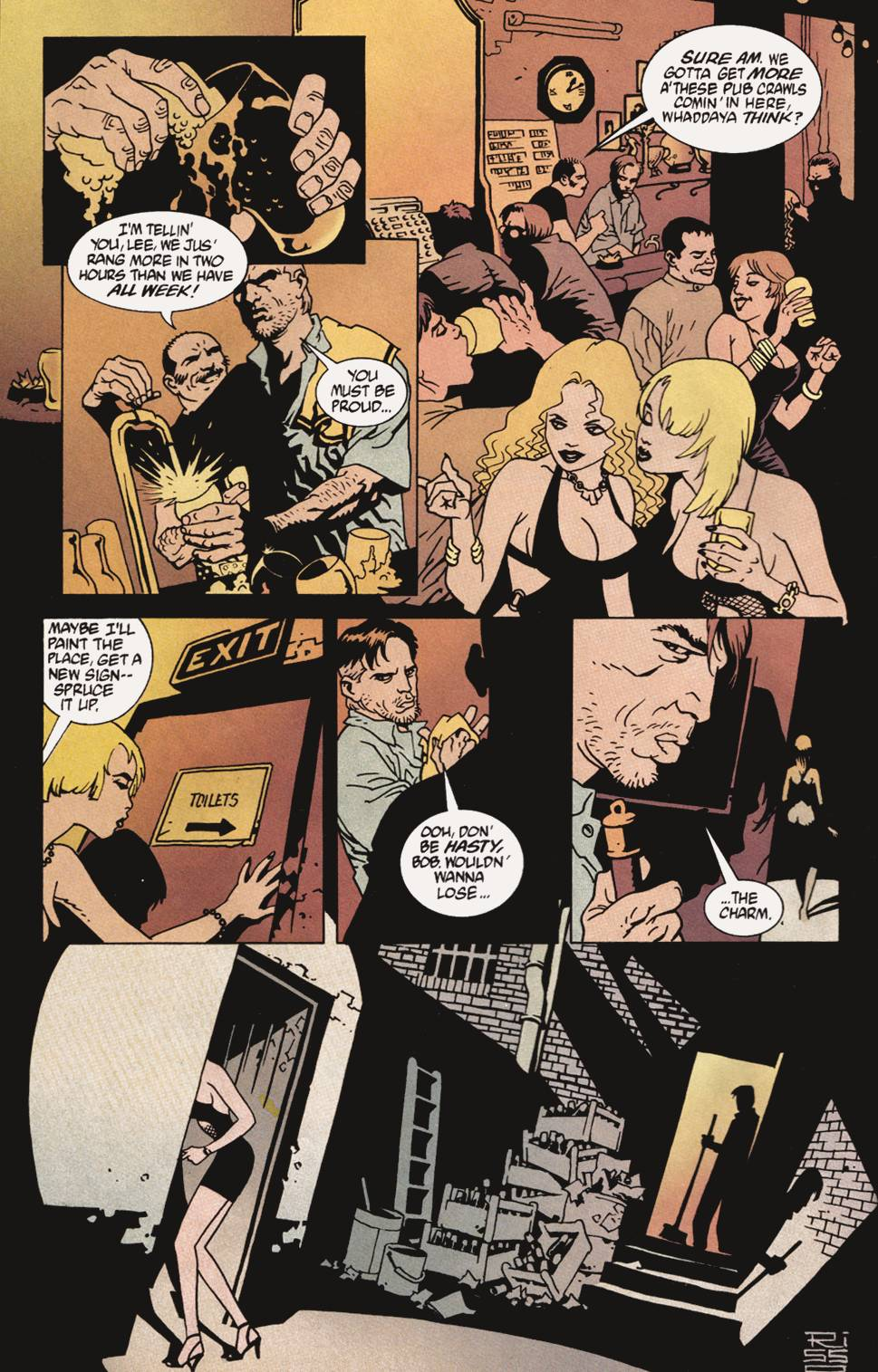 Read online 100 Bullets comic -  Issue #4 - 19