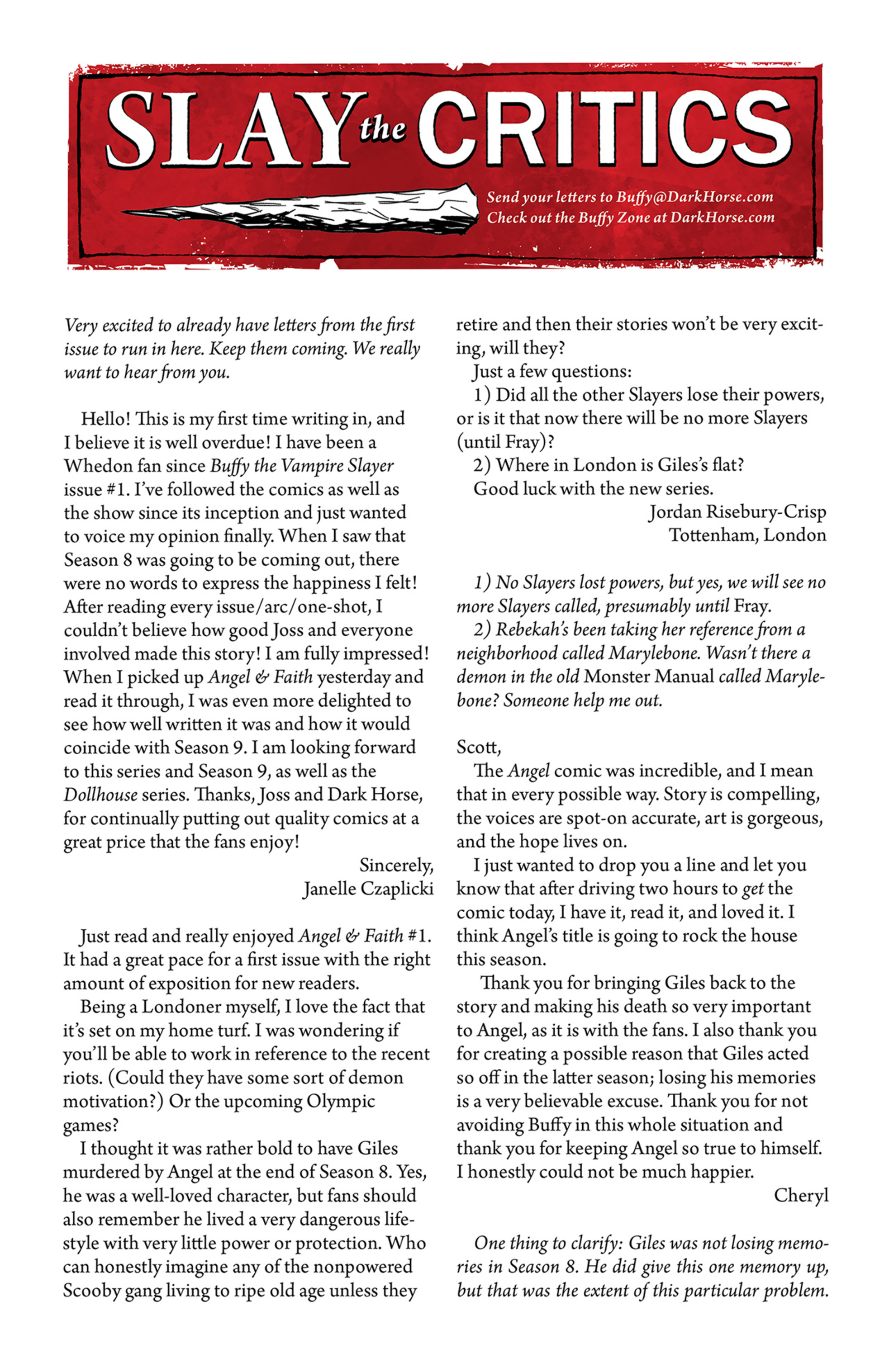 Read online Angel and Faith comic -  Issue #3 - 26