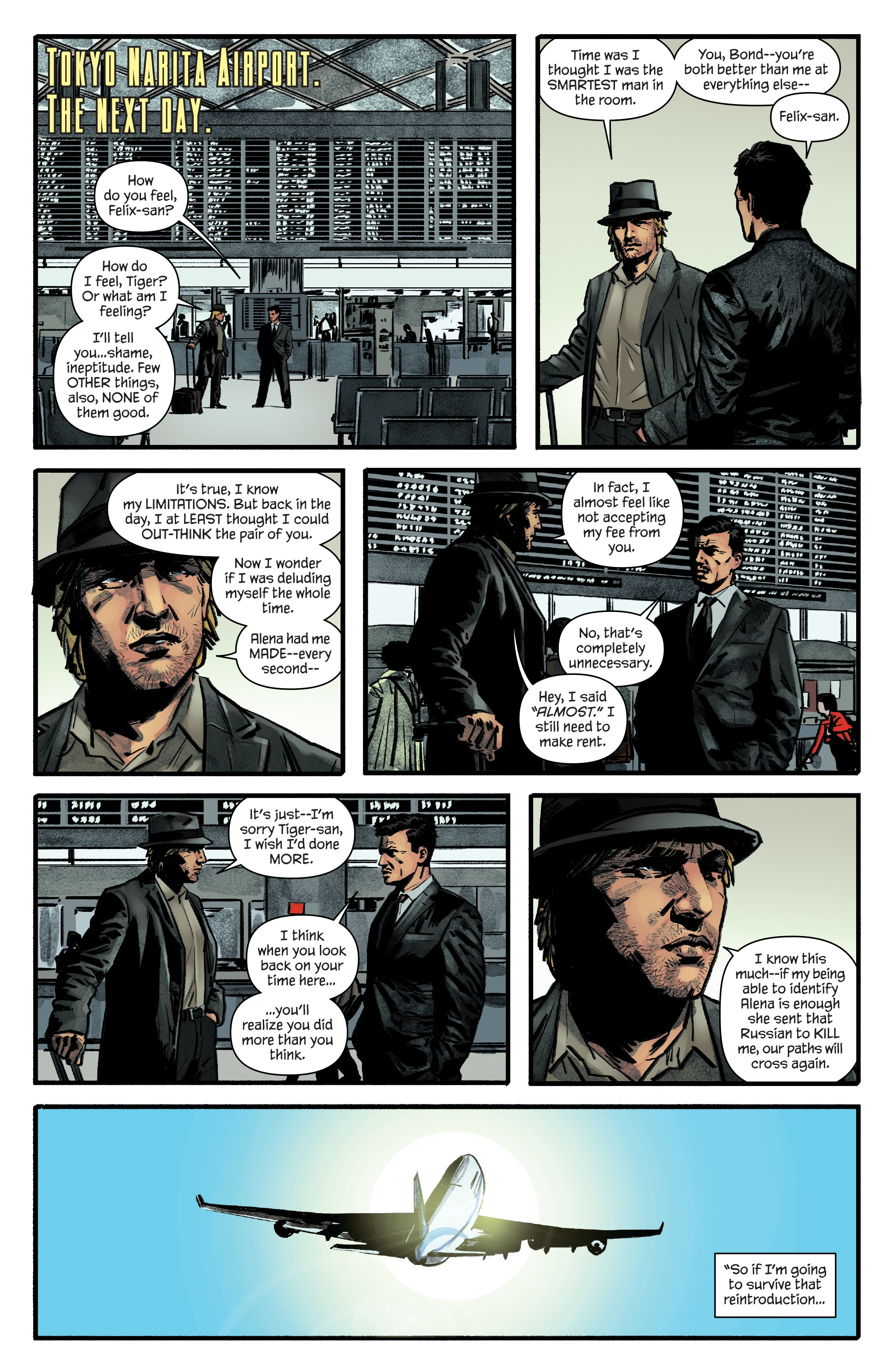 Read online James Bond: Felix Leiter comic -  Issue #6 - 18