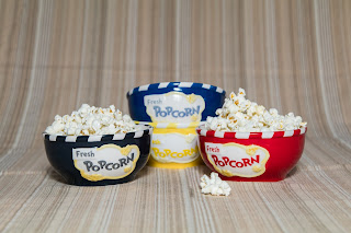Avon Gourmet Collection Popcorn Bowls Set