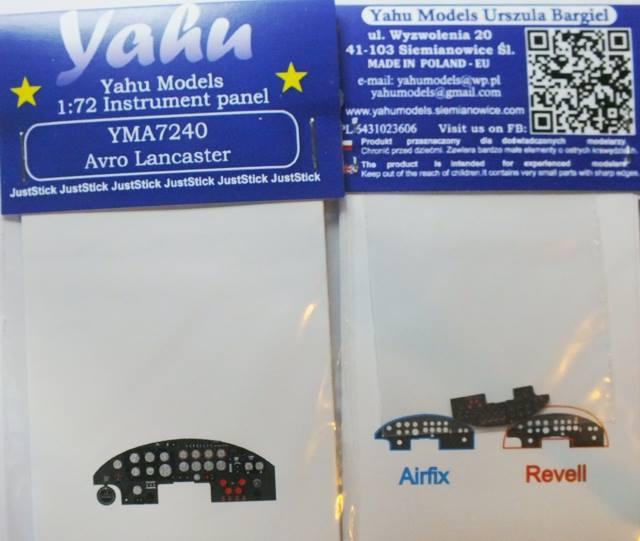 Yahu Models YMA7290 1//72 PE Fiat G.55 Instrument Panel Sword