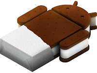Logo of Android 4.0 aka Ice Cream Sandwich
