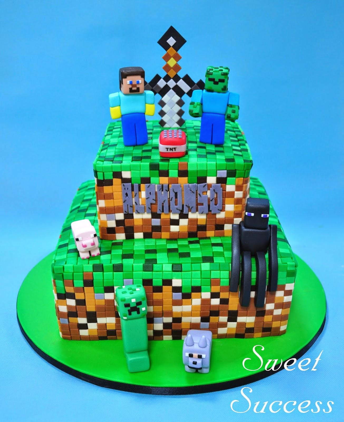 Sweet Success' Sweet Life: Lego Minecraft
