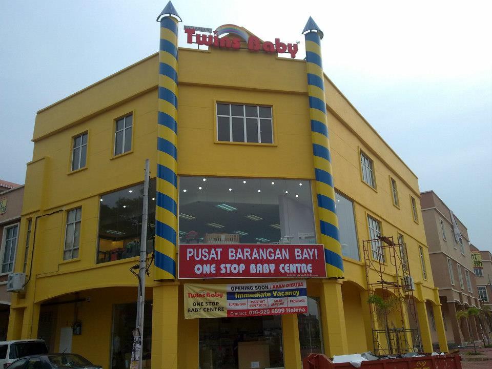 Dapur Berasap No 6 Taman Komersial Sena 2018 Super Ummi Ping Di Twins Baby