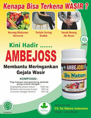Jual AMBEJOSS Obat Ambeien Pada Pria (WA 082326813507)