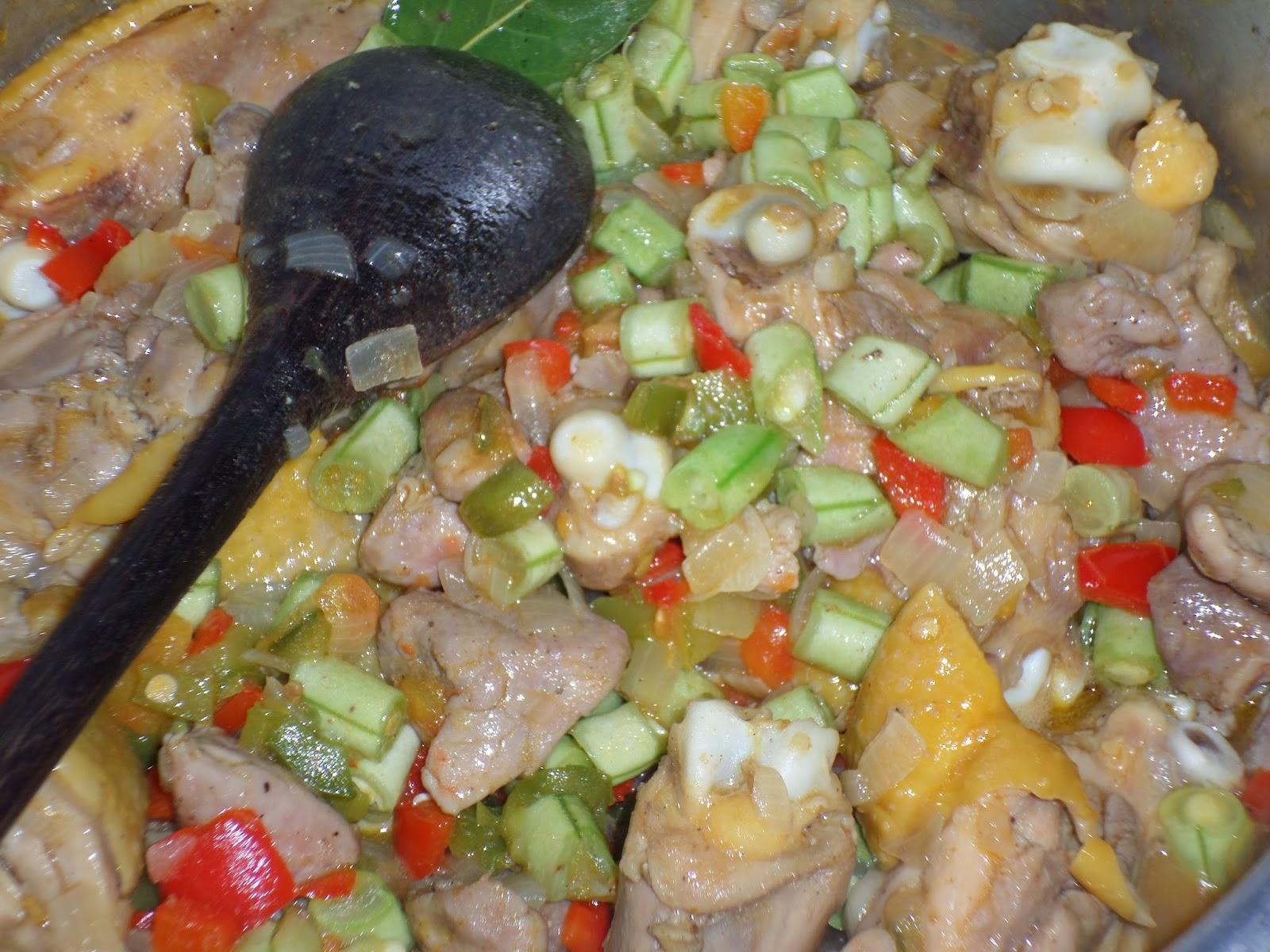 paella com legumes