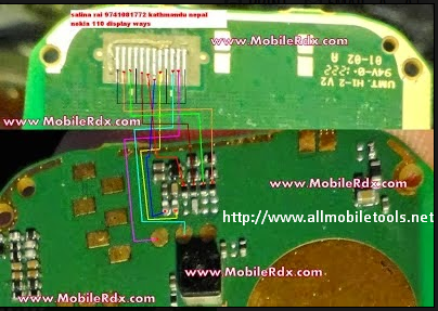 Nokia 114 White Display Solution Ways With Jumper