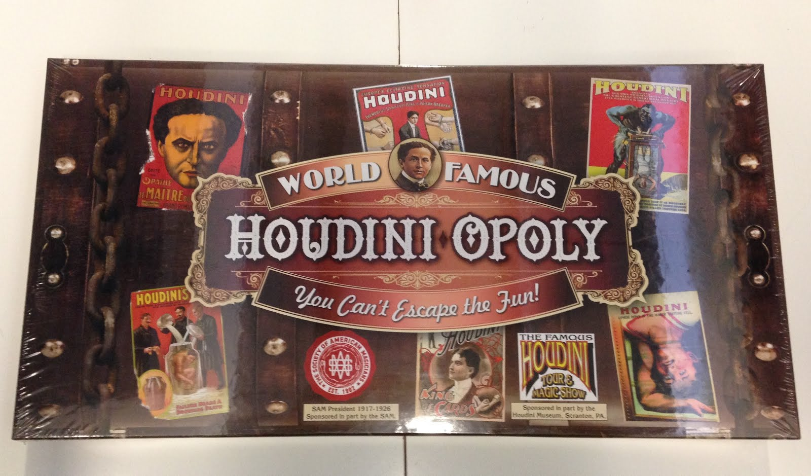Houdini-Opoly Board Game
