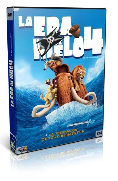 La Era de Hielo 4 DVDR NTSC Español Latino Menú Full 2012