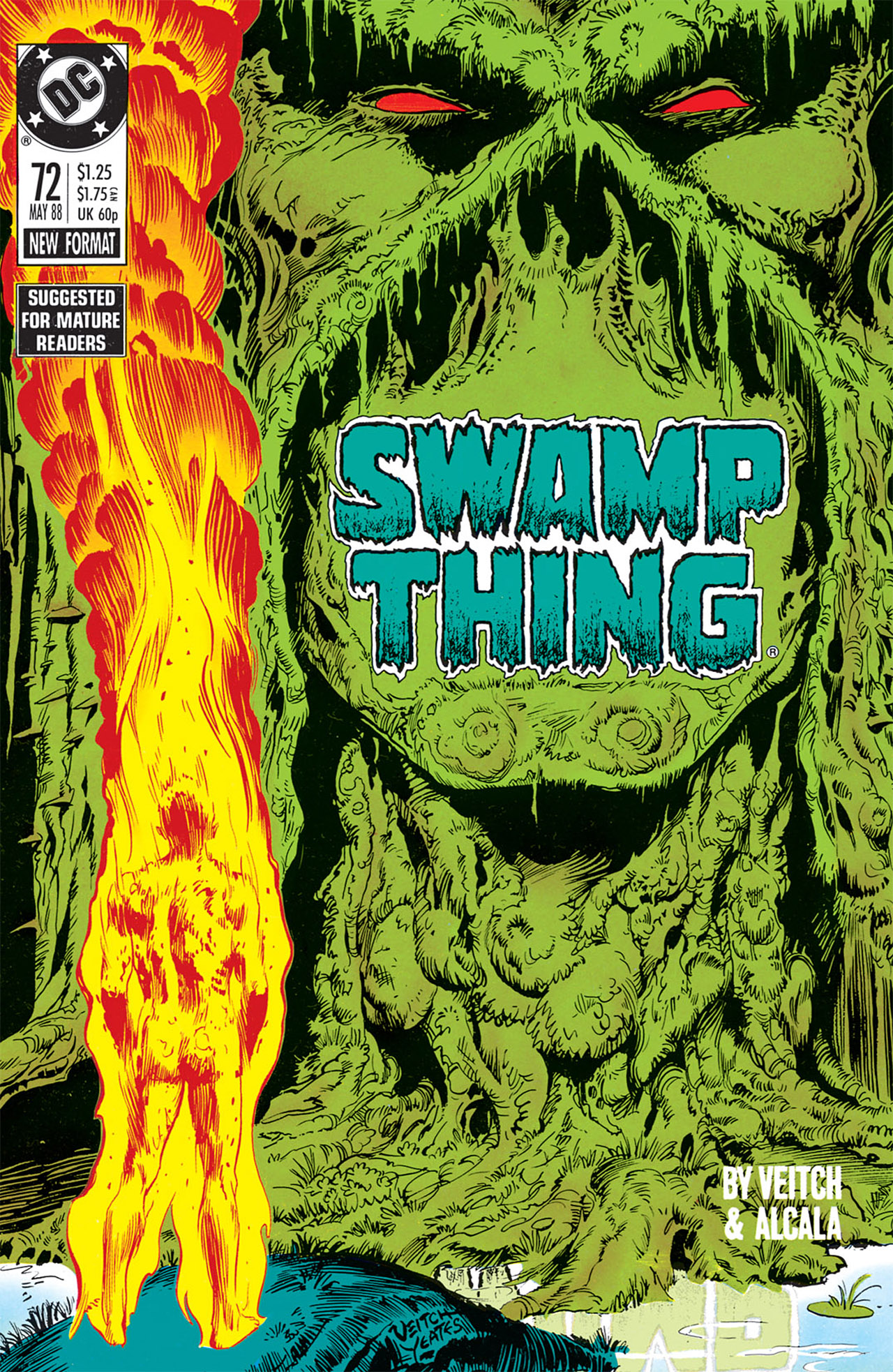 Swamp Thing (1982) Issue #72 #80 - English 1