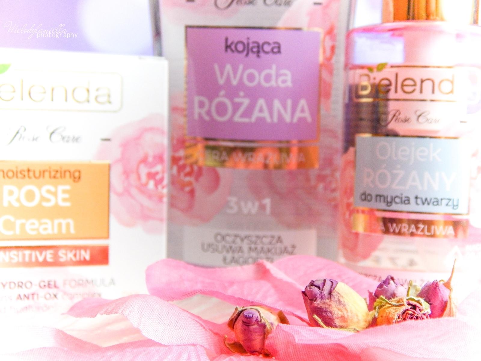 3 Bielenda rose care różany krem do twarzy recenzja kojąca woda różana 3w1 olejek różany do mycia twarzy produkty bielenda seria różana melodylaniella test produktów kosmetycznych ciekawe blogi lifestyle