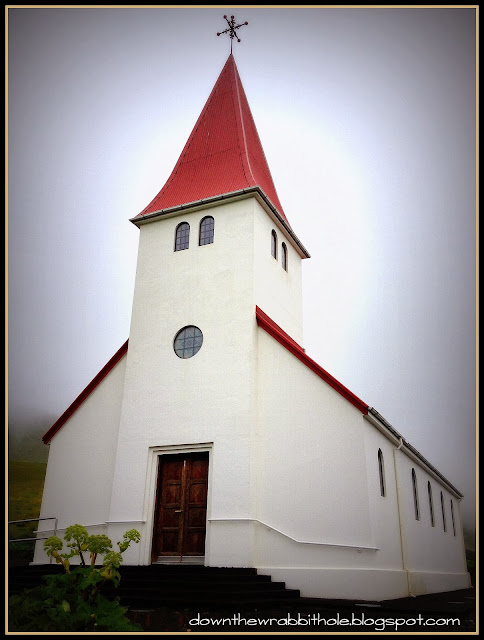 Flatanger Church Vik Iceland