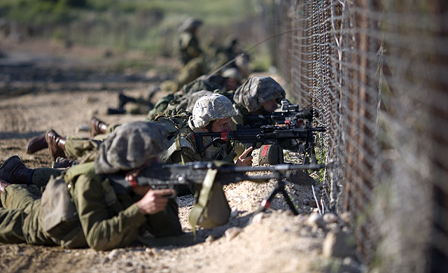 Frontera Siria Israel