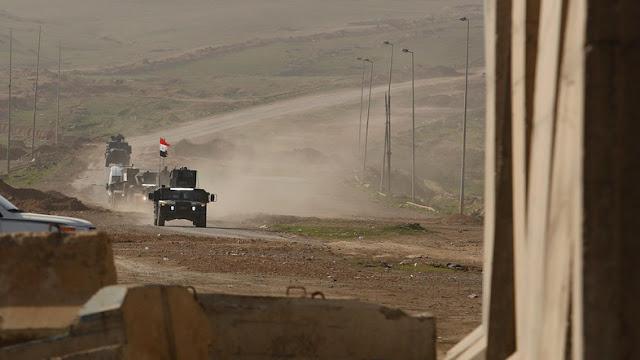 As forças iraquianas retomaram cerca de 30 por cento do oeste de Mosul do ISIS, disse um comandante do serviço de elite em contra o terrorismo (CTS), no domingo.