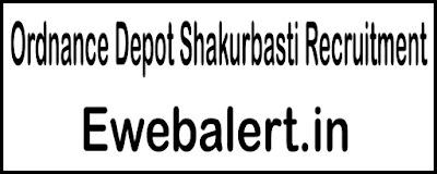 Ordnance Depot Shakurbasti Recruitment