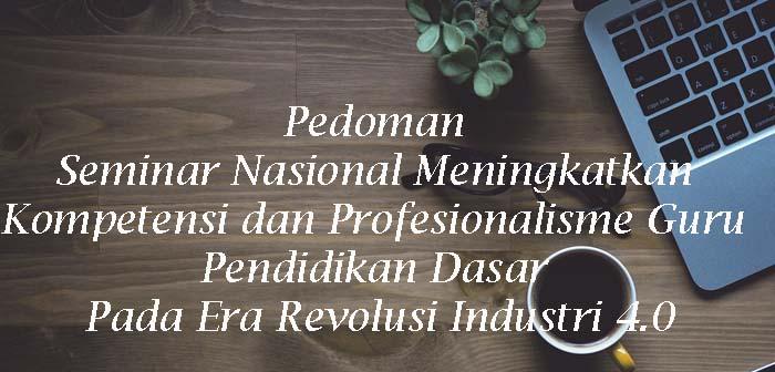 Pedoman Seminar Nasional Tahun 2019