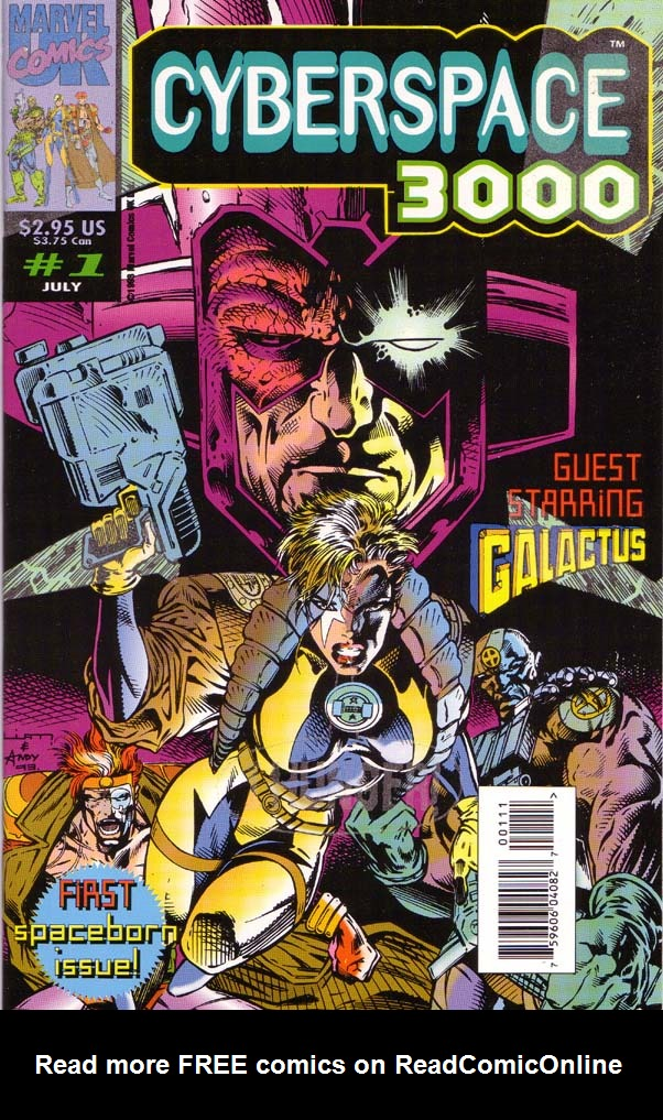 Read online Cyberspace 3000 comic -  Issue #1 - 1