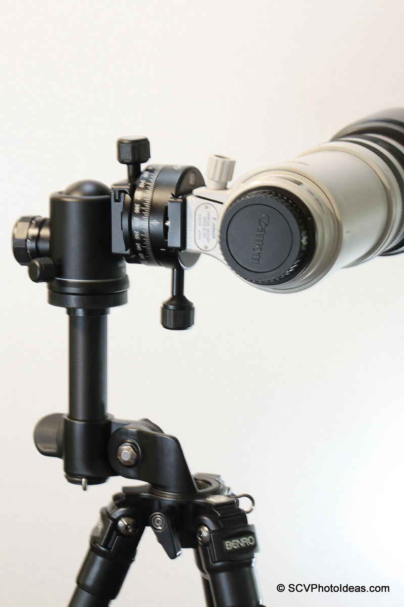 Alternative Gimbal Head w/ Canon EF 100-400 L IS USM