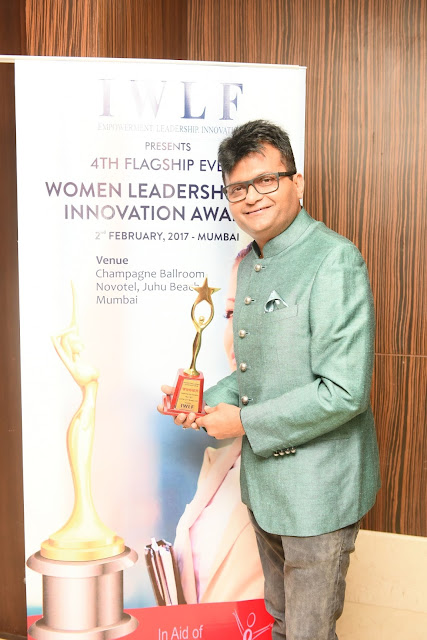 Industrialist & philanthropist Dr. Aneel Murarka wins Social Philanthropist of the Year at 4th Women Leadership & Innovation Awards 2017