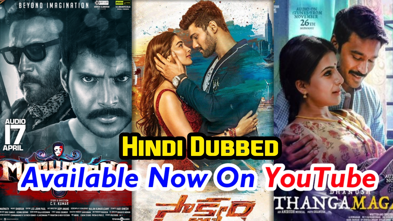 best hindi dubbed movies on youtube