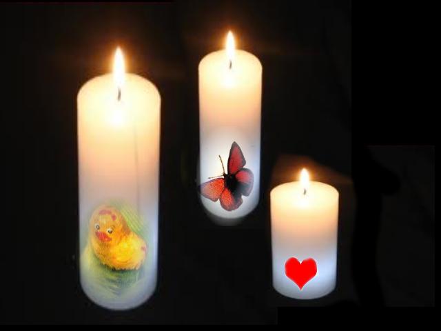 Bisbigli tecnica del decoupage per decorare le candele for Decorare candele