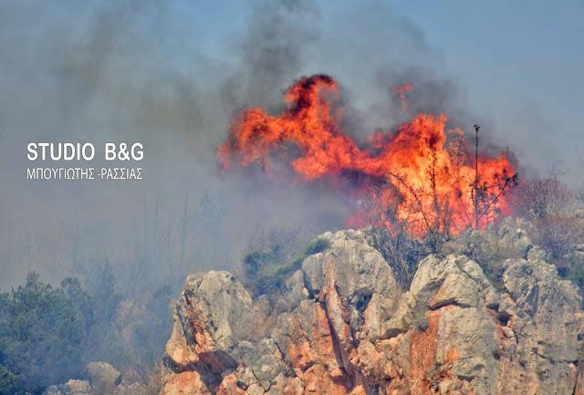 Αργολίδα: Υψηλός ο κίνδυνος πυρκαγιάς και σημερα Τρίτη 14 Αυγούστου