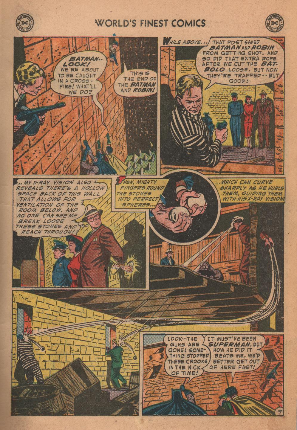 Read online World's Finest Comics comic -  Issue #72 - 11