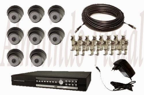 Paket 8 Kamera Cctv