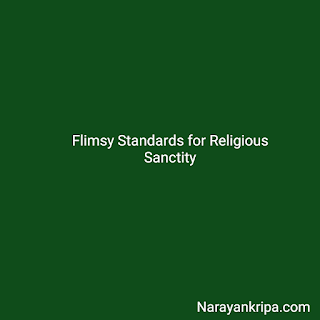 `Text Image: Flimsy Standards for Religious Sanctity