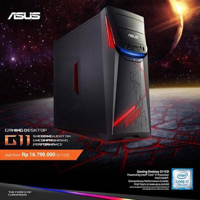 ASUS Gaming Desktop G11 | Harga: Rp16.799.000