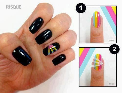 Imagenes Fantasia Y Color Tutoriales Para Diseñar Tus Uñas