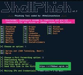 cara mengetahui password dan username segala akun medsos orang lain dengan shellphish termux tehnoma