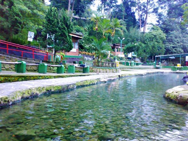 wisata hits Pemandian Air Panas Ciater di subang