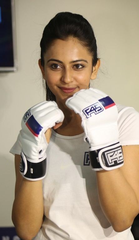 Rakul Preet Singh At Gym launch