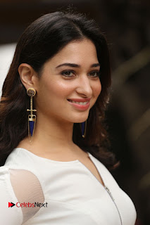 Actress Tamannaah Pictures at Abhinetri Movie Interview  0011