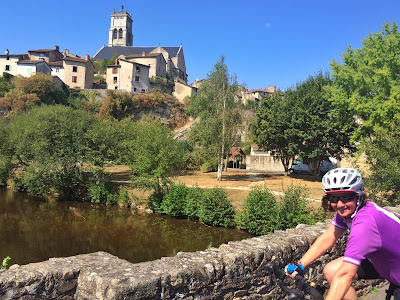 French Village Diaries cycling Charente Vienne Haute Vienne Bellac