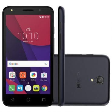 "Smartphone Alcatel Pixi4 5"" Preto OT5045"