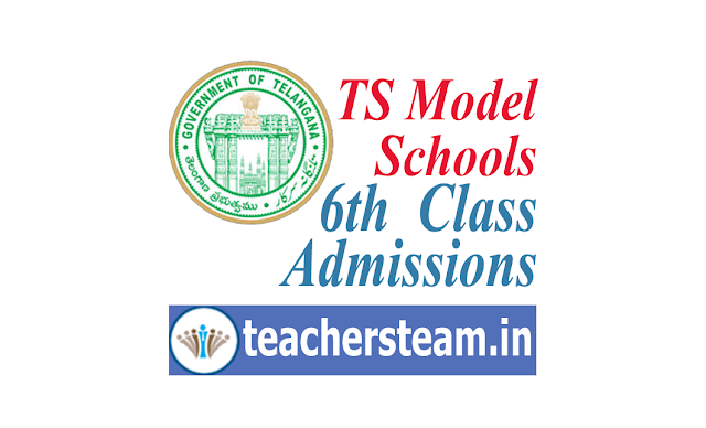 Telangana Model School 6th Class Admission Notification 2019