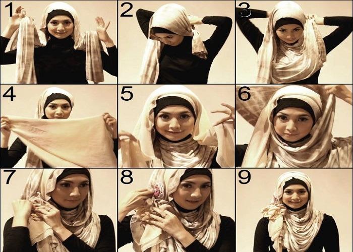 Kumpulan Tips dan Trik Seputar Hiijab: 14 Tutorial Hijab