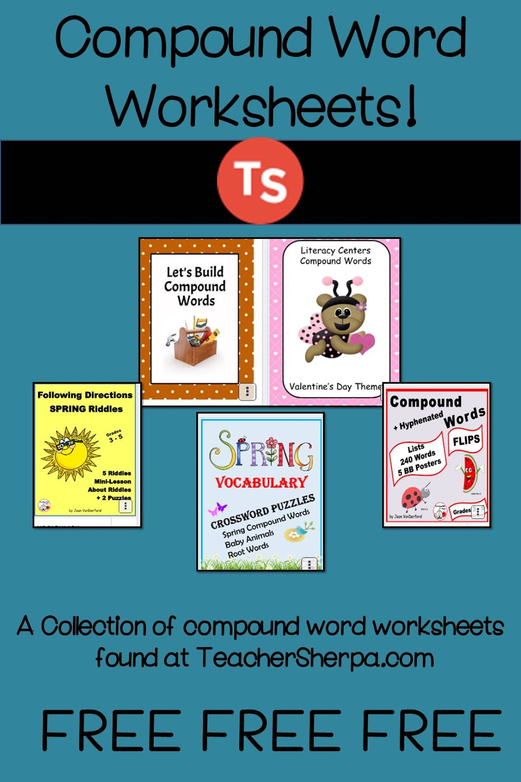 Engaging Lessons And Activities Compund Words Worksheets