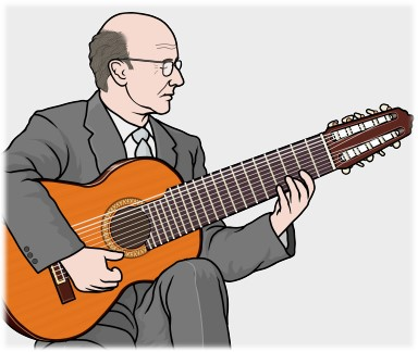 スペインのギタリスト ナルシソ・イエペス(Narciso Yepes)