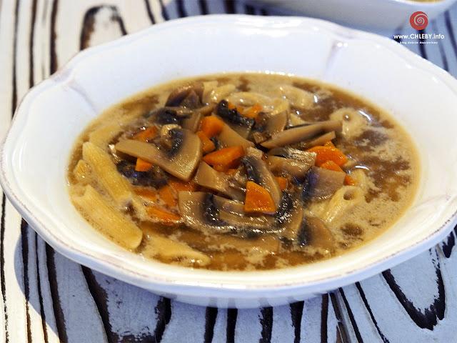 Zupa grzybowo-pieczarkowa