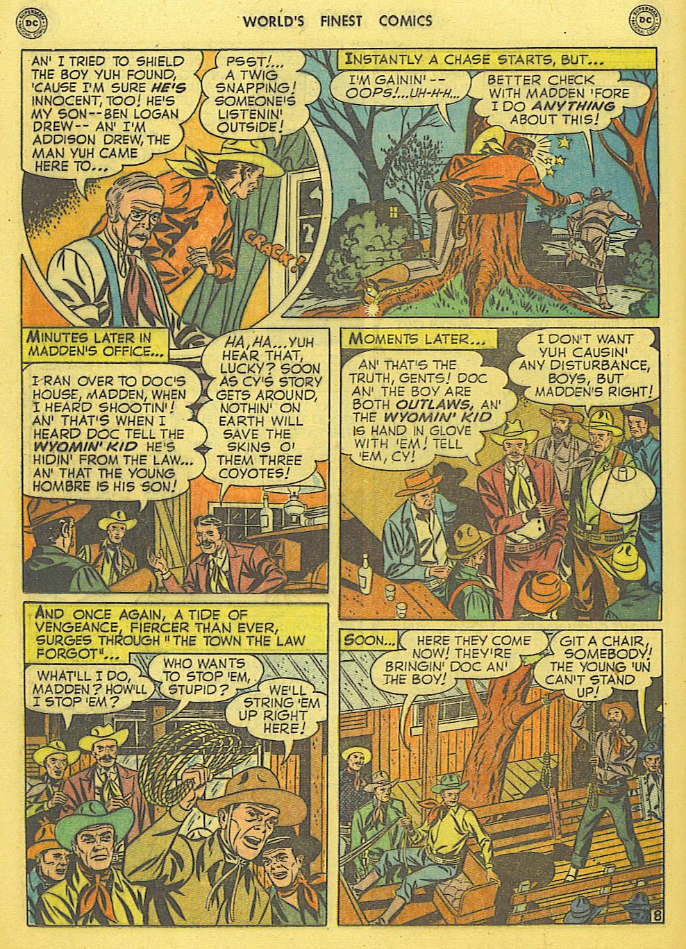 Read online World's Finest Comics comic -  Issue #49 - 47