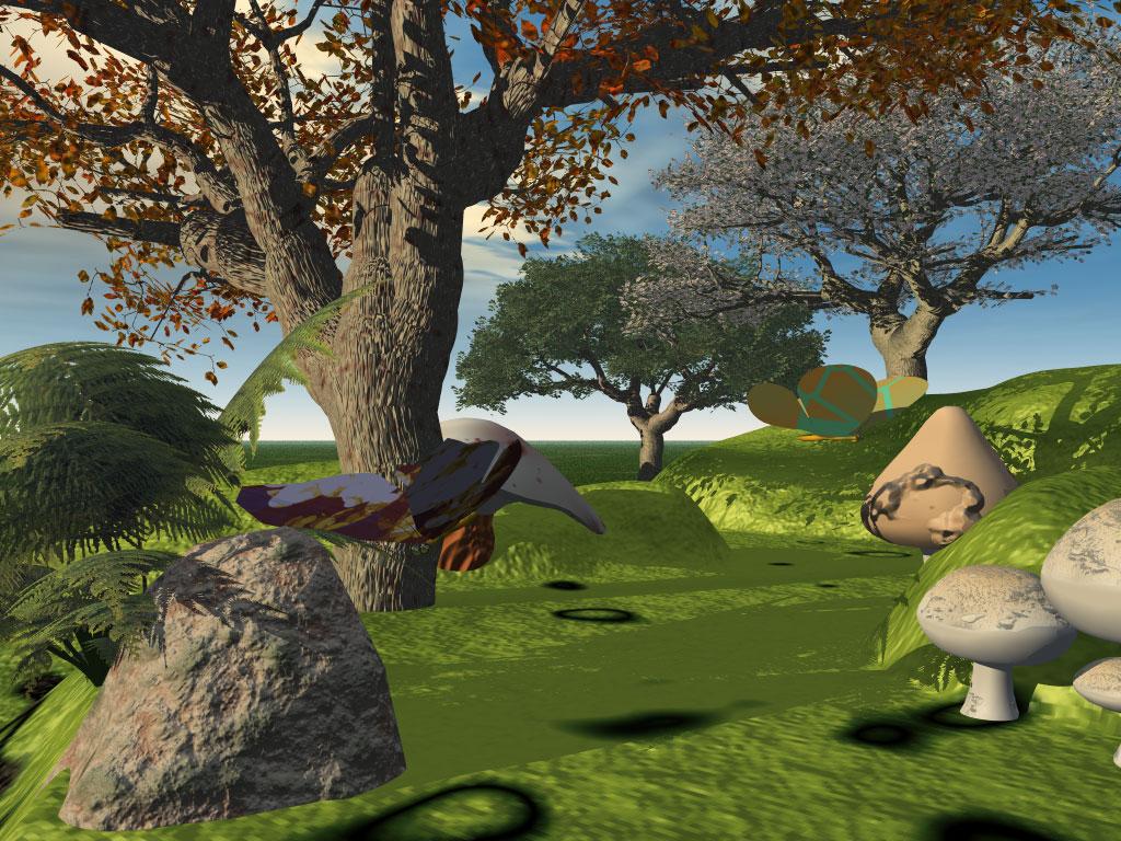 3d wallpaper trees - photo #26