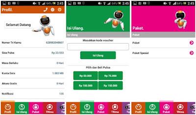 Aplikasi Android BimaTRI