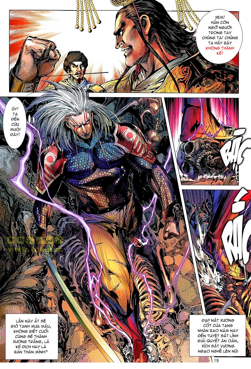 truyện tranh thiết tướng tung hoành Chapter 43/