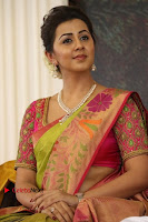 Actress Nikki Galrani Latest Pos in Saree Neruppu Da Movie Audio Launch  0010.jpg